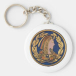 Daughters Of Isis Products Basic Round Button Keychain