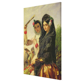 Daughters of the Alhambra Canvas Print