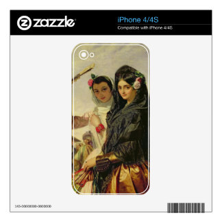 Daughters of the Alhambra iPhone 4 Decals