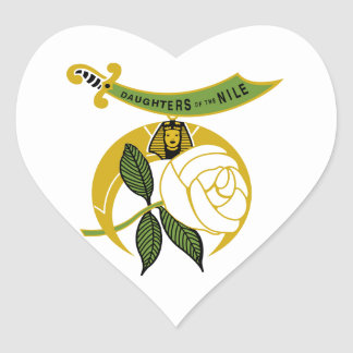 Daughters of the Nile Heart Sticker