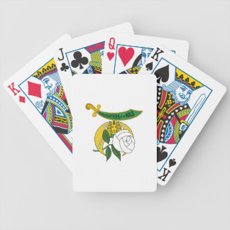 DAUGHTERS OF THE NILE BICYCLE PLAYING CARDS