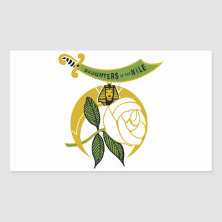 Daughters of the Nile Rectangular Sticker