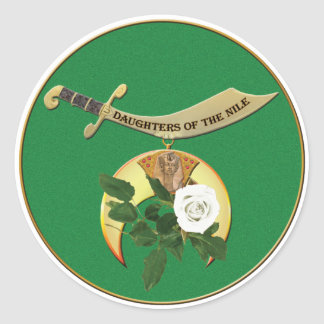 Daughters of the Nile Round Sticker