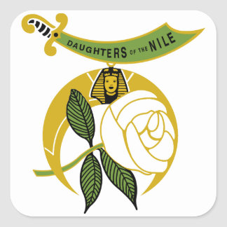 Daughters of the Nile Square Sticker
