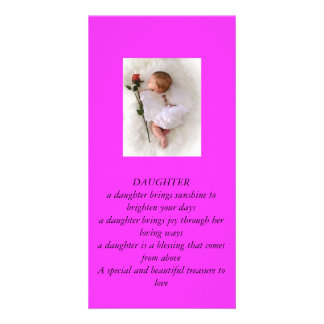 Daughters Photo Card Template