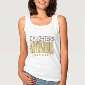 'Daughters Priceless' Barcode Shirt