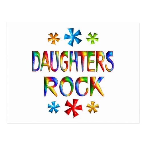 DAUGHTERS ROCK POSTCARD