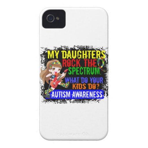 Daughters Rock The Spectrum Autism Case-Mate Blackberry Case