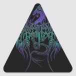 Daughters seal triangle sticker