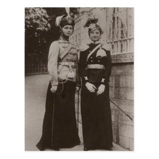Daughters Tsar OLGA & TATIANA Romanov Russia #279 Postcard