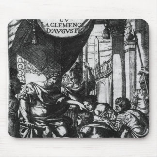 'd'Auguste de Clemence del la del ou de Cinna Mouse Pads