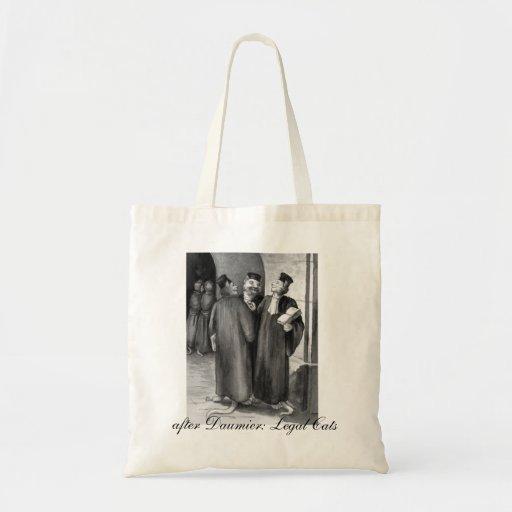Daumier Cats Tote Bag