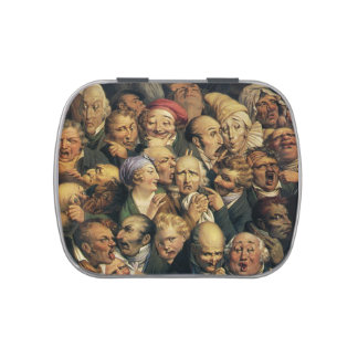 Daumier's Expressions candy tins