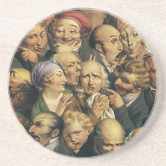 Daumier's Expressions coaster
