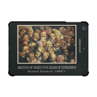 Daumier's Expressions custom cases iPad Mini Cases