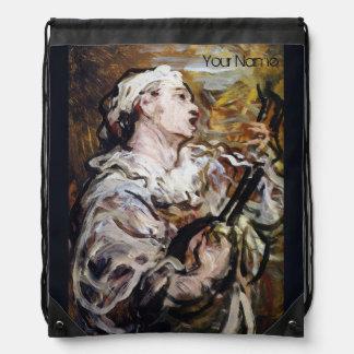 Daumier's Pierrot Art backpack