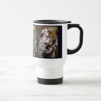 Daumier's Pierrot custom art mugs