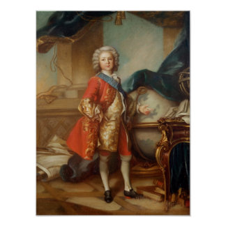Dauphin Charles-Louis  of France Poster