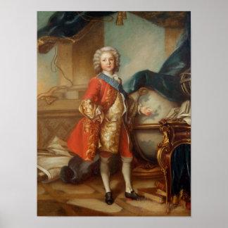 Dauphin Charles-Louis  of France Print