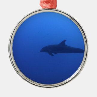Dauphin Dolphin Customizable Metal Ornament