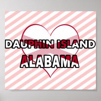 Dauphin Island, Alabama Poster
