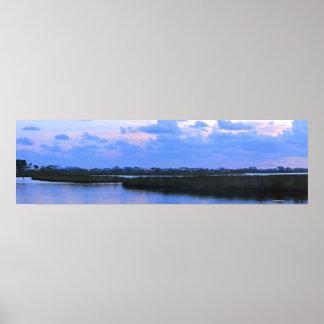 Dauphin Island Bayside Panorama Print