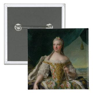 Dauphine Marie-Josephe de Saxe  1751 Pinback Buttons