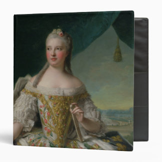 "Dauphine Marie-Josephe de Saxe 1751 Carpeta 1 1/2"""