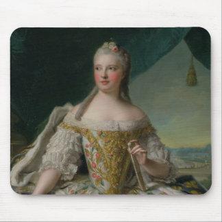 Dauphine Marie-Josephe de Saxe  1751 Mouse Pad