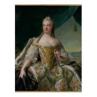 Dauphine Marie-Josephe de Saxe  1751 Postcard