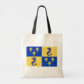 Dauphine Of France, France flag Budget Tote Bag
