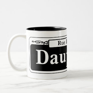 Dauphine St., New Orleans Street Sign Coffee Mugs