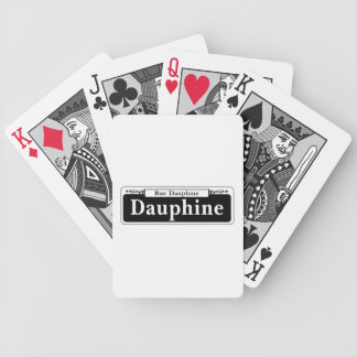 Dauphine St., New Orleans Street Sign Deck Of Cards