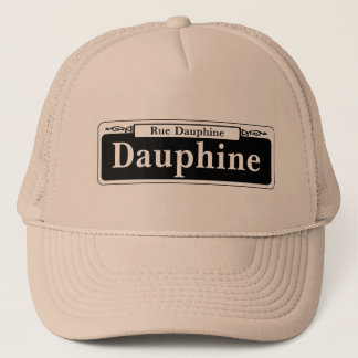 Dauphine St., New Orleans Street Sign Trucker Hat