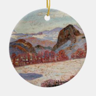 d'Auvergne del St. Sauves, c.1900 (aceite en el Adorno De Navidad