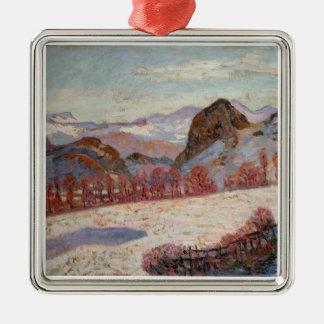 d'Auvergne del St. Sauves, c.1900 (aceite en el pa Adornos