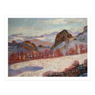 d'Auvergne del St. Sauves, c.1900 (aceite en el pa Postal