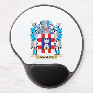 Davalos Coat of Arms - Family Crest Gel Mouse Pads