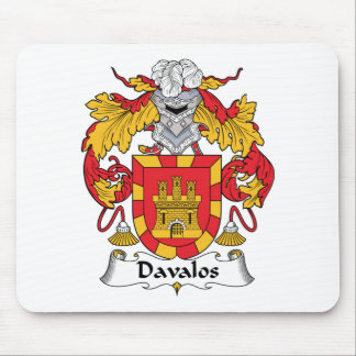 Davalos Family Crest Mouse Pads