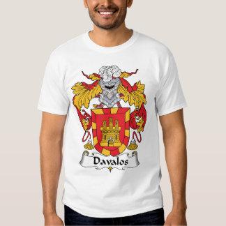 Davalos Family Crest T Shirt