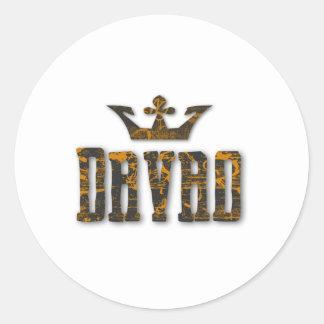 Davao Royalty Classic Round Sticker