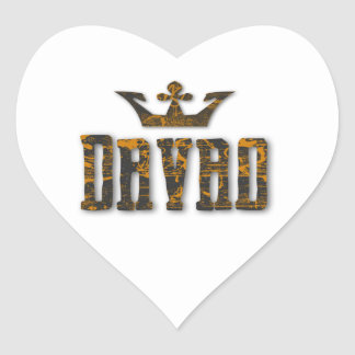 Davao Royalty Heart Sticker