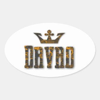 Davao Royalty Oval Sticker