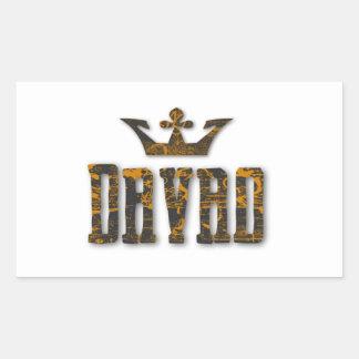 Davao Royalty Rectangular Sticker