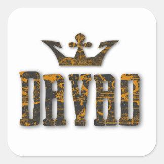 Davao Royalty Square Sticker
