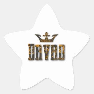 Davao Royalty Star Sticker