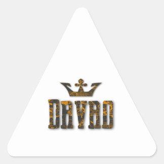 Davao Royalty Triangle Sticker
