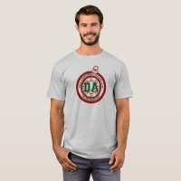 Dave Ahern Annual Holiday Cup Tee Grey