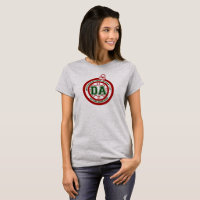 Dave Ahern Annual Holiday Cup Tee Women's Grey