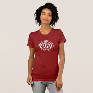 Dave Ahern Annual Holiday Cup Tee Women's Red